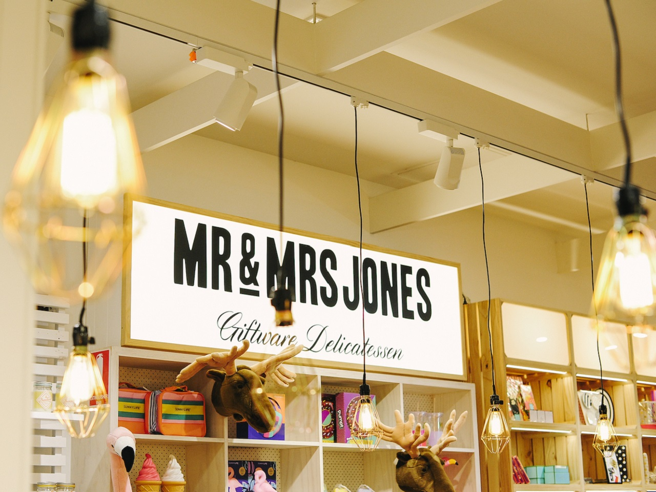 Mr & Mrs Jones, The Giftware Delicatessens