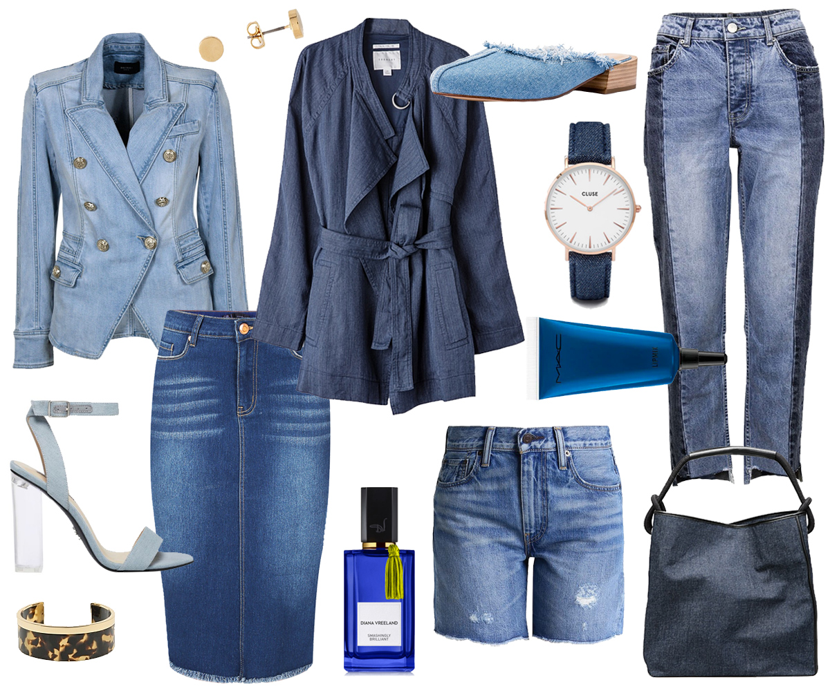 e94de5640b Her trademarks are sharp blazers, midi skirts, tapered jeans and slip-on  mules, complete with simple accessories and a bold scent.