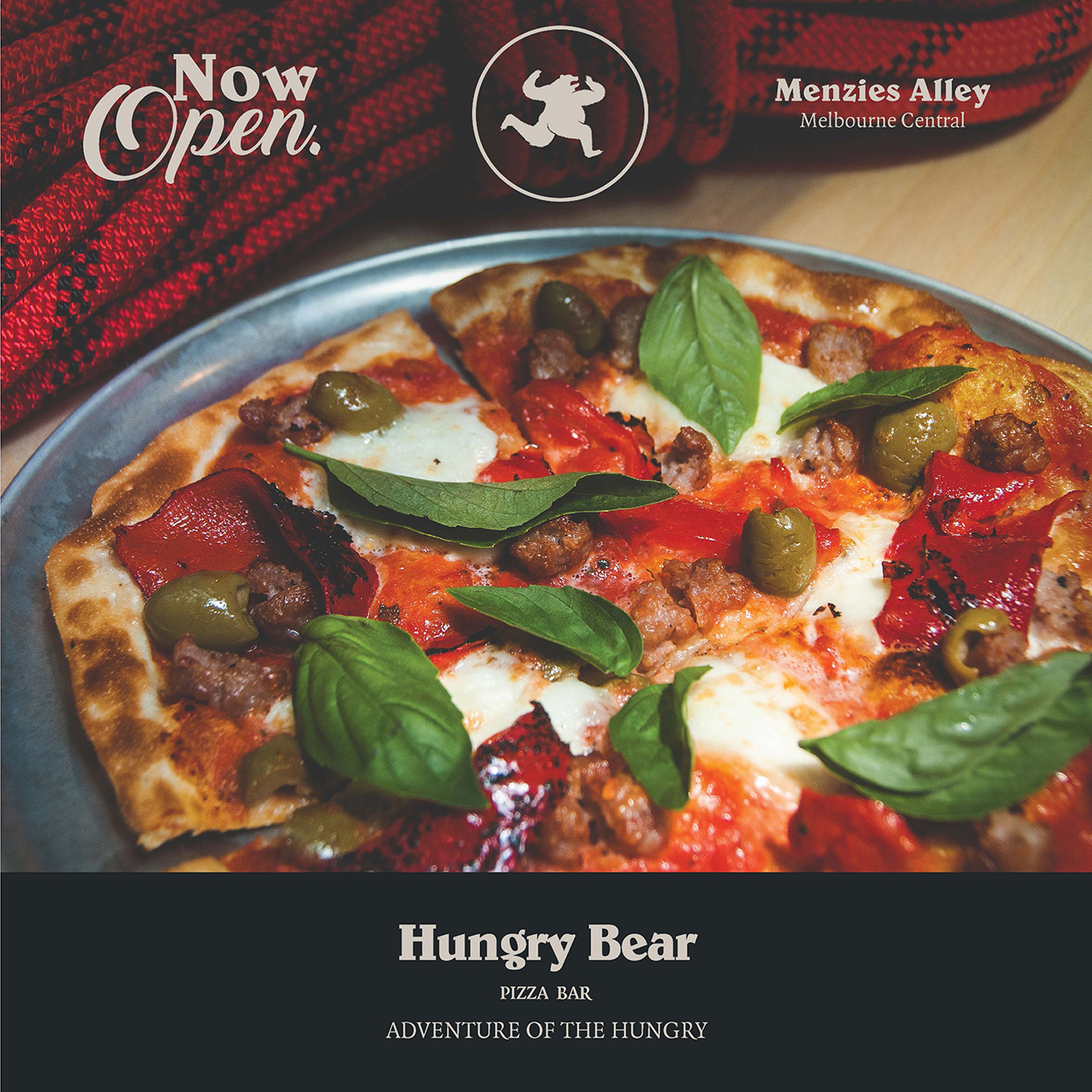 Hungry Bear is open