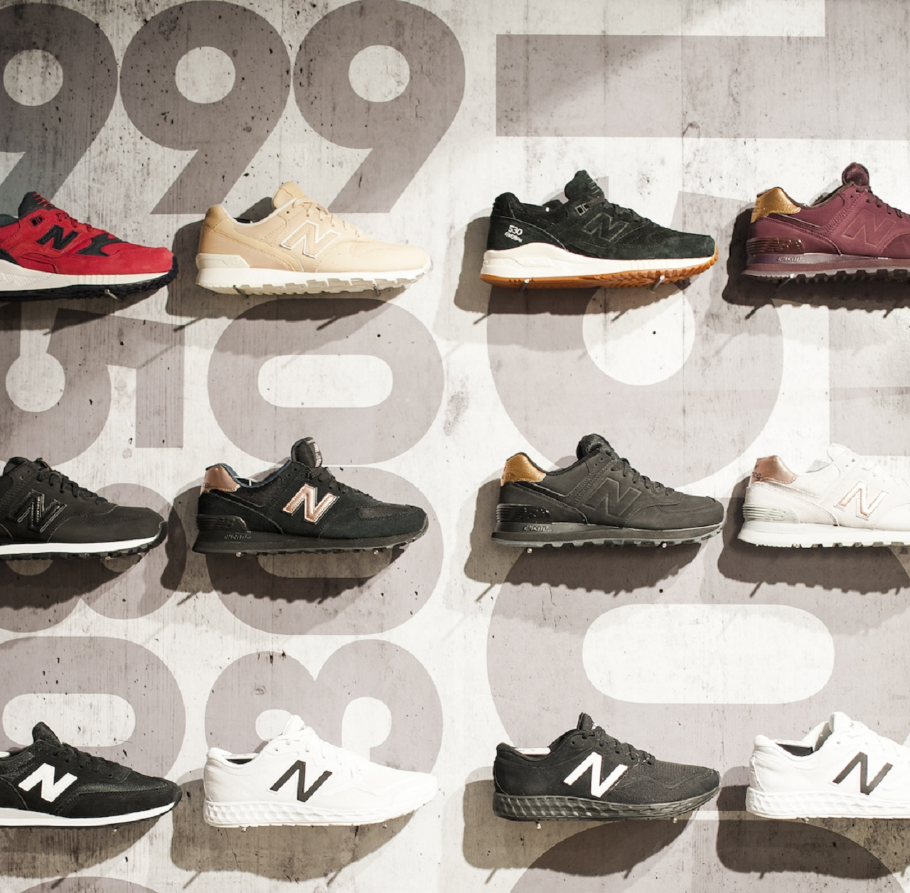 New Balance has opened a slick new store at Melbourne Central