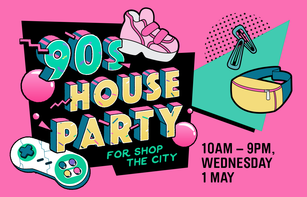 90s House Party for Shop The City