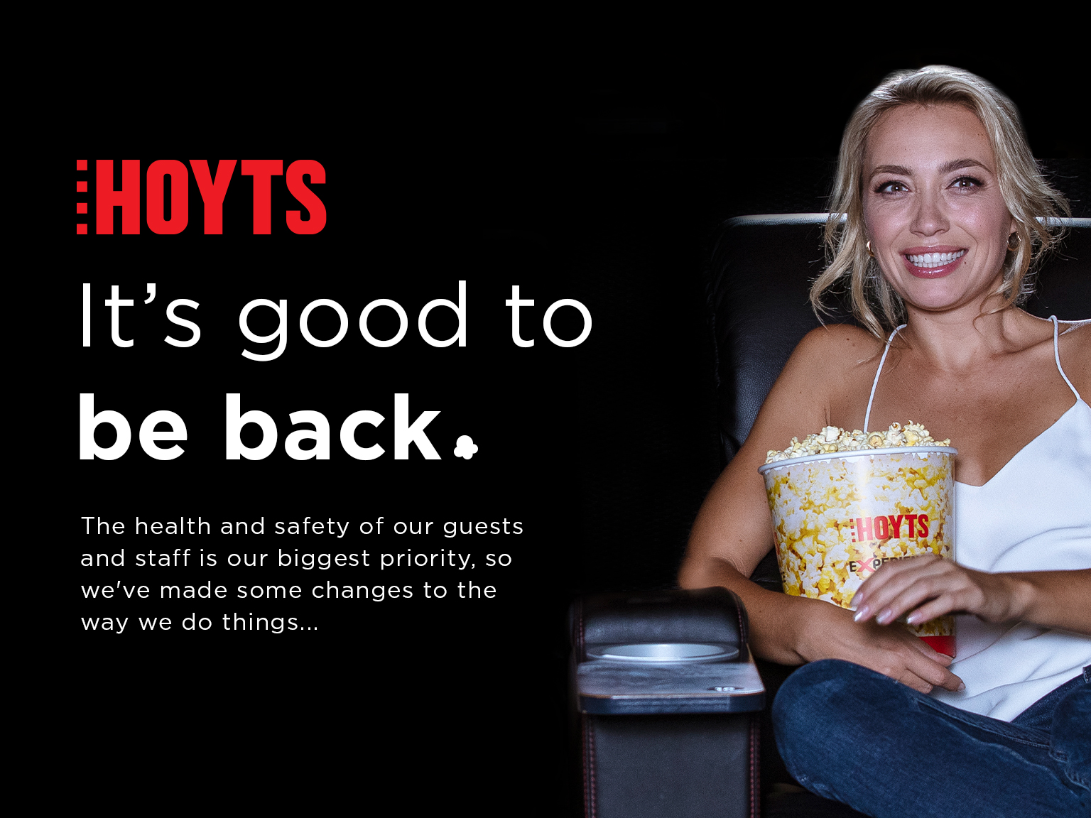 Hoyts Now Open