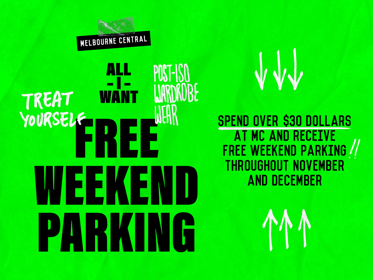 Free Weekend Parking
