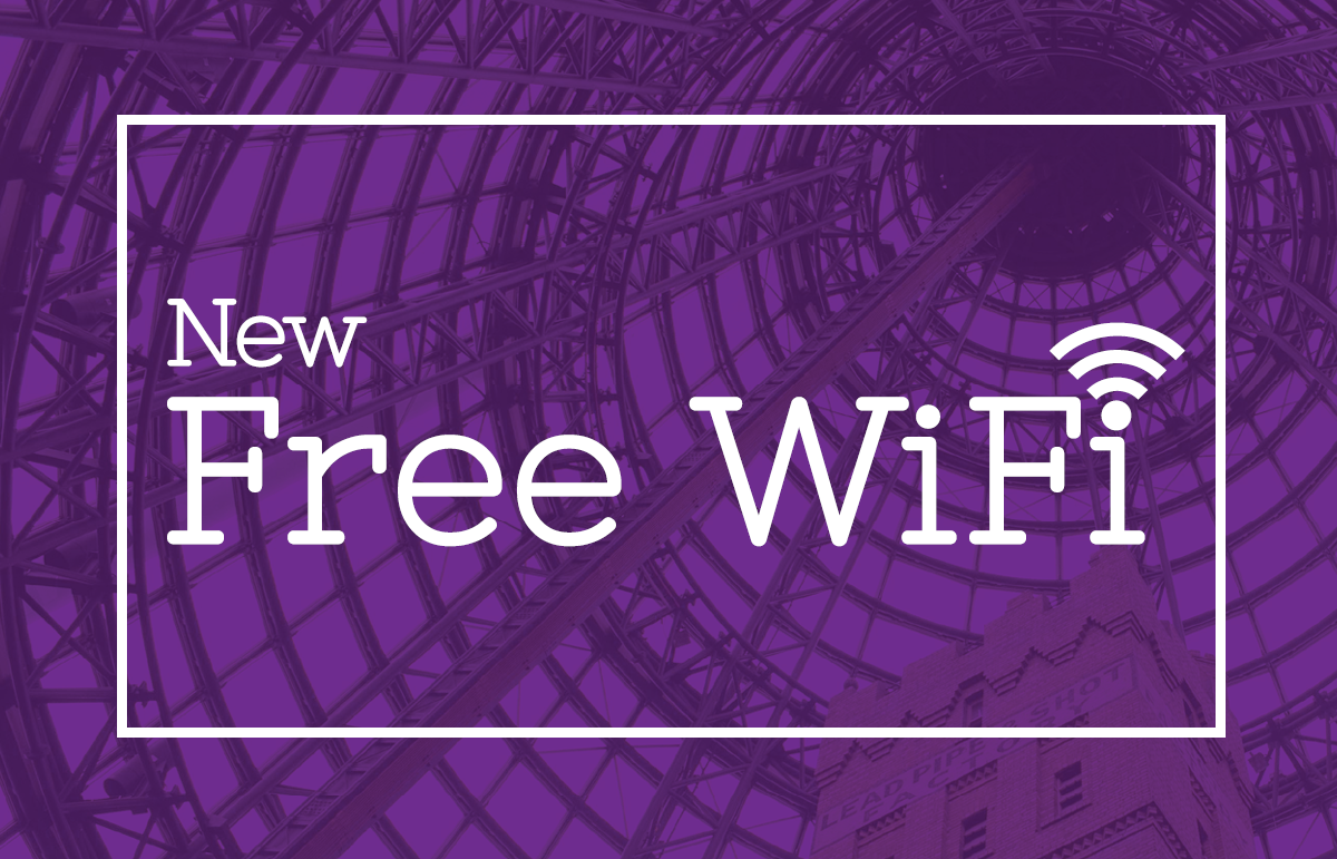Melbourne Central New FREE WiFi