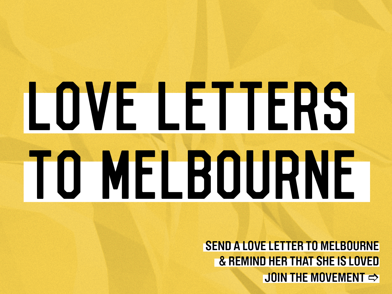 Love Letters to Melbourne