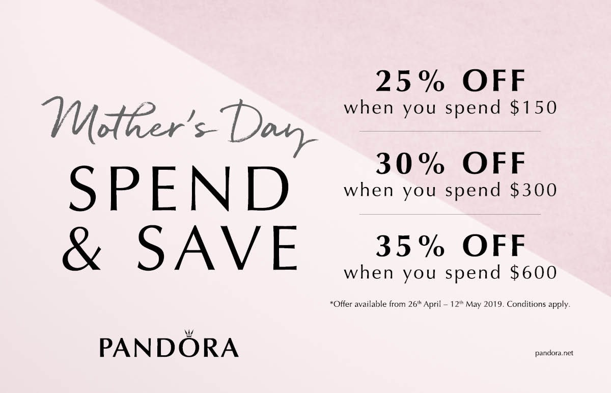 Pandora Spend and Save Promotion