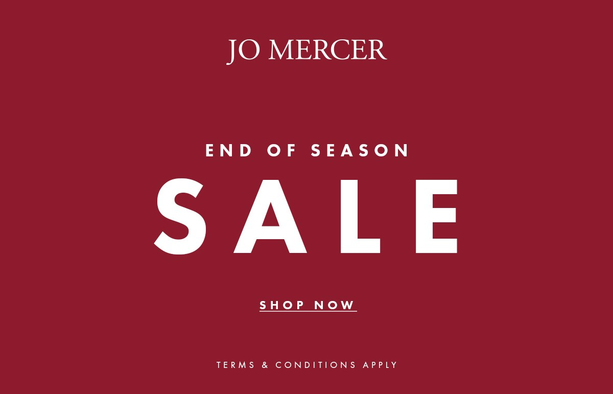 Jo Mercer End of Season Sale