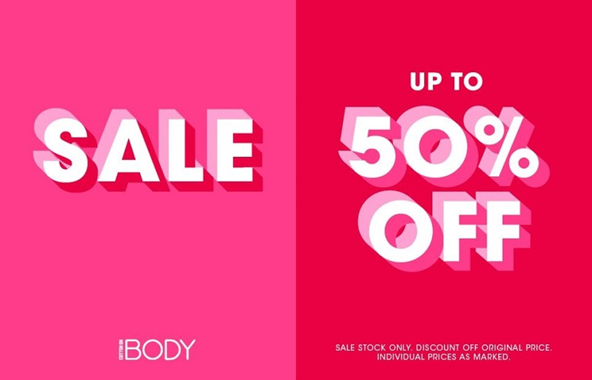 Cotton On Body 50% off