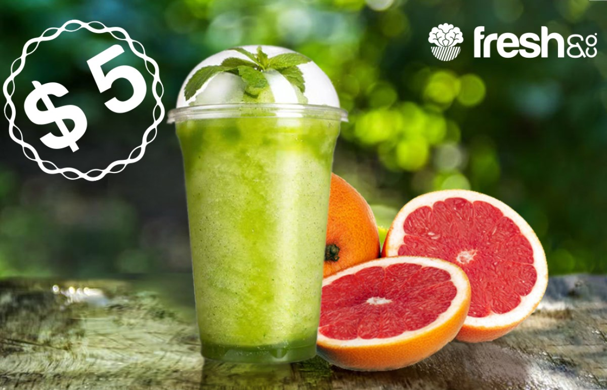 $5 Juice at Fresh & Co.
