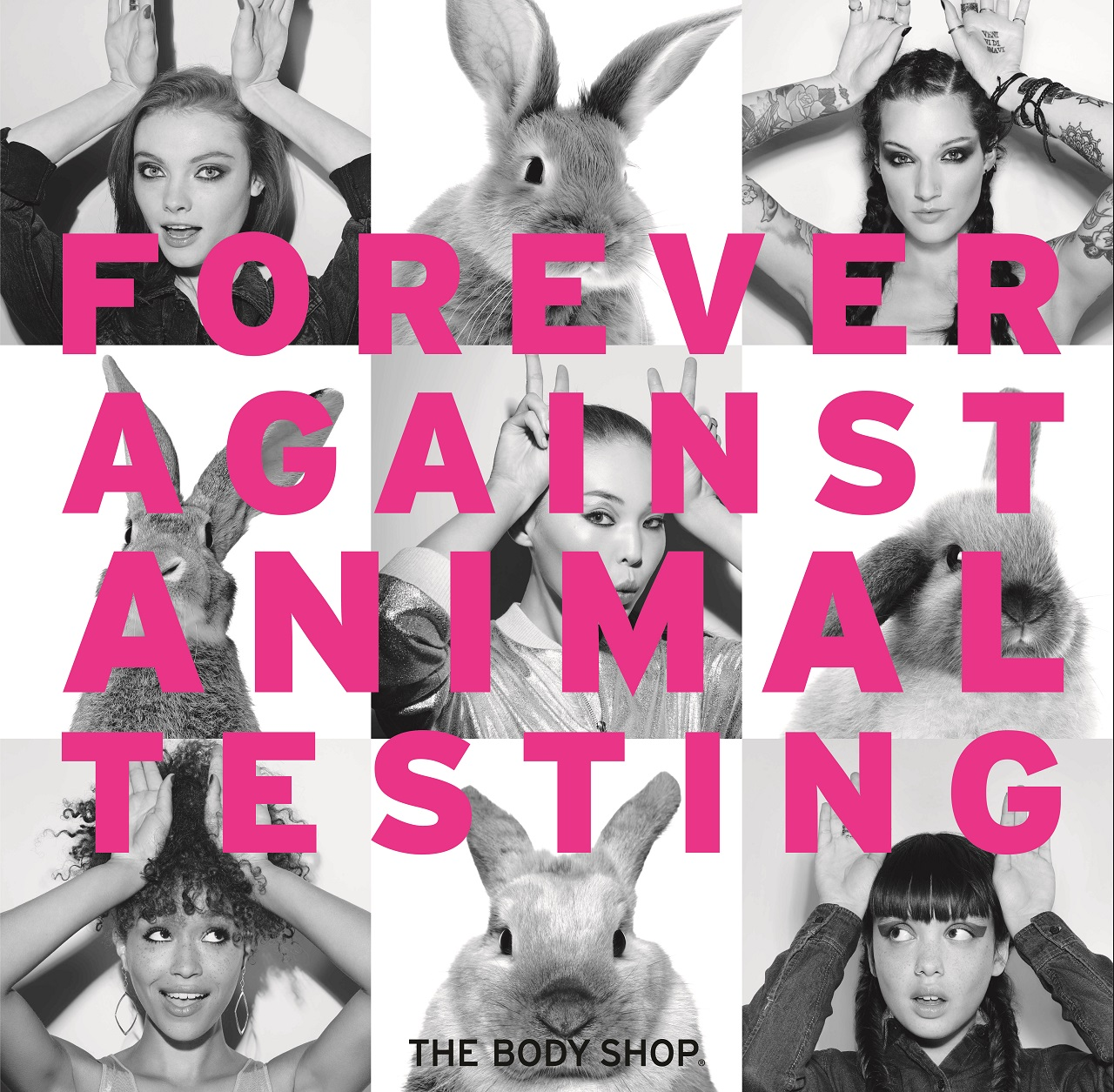 Support The Body Shop's Petition Against Animal Testing
