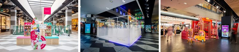 Melbourne Central pop-up leasing